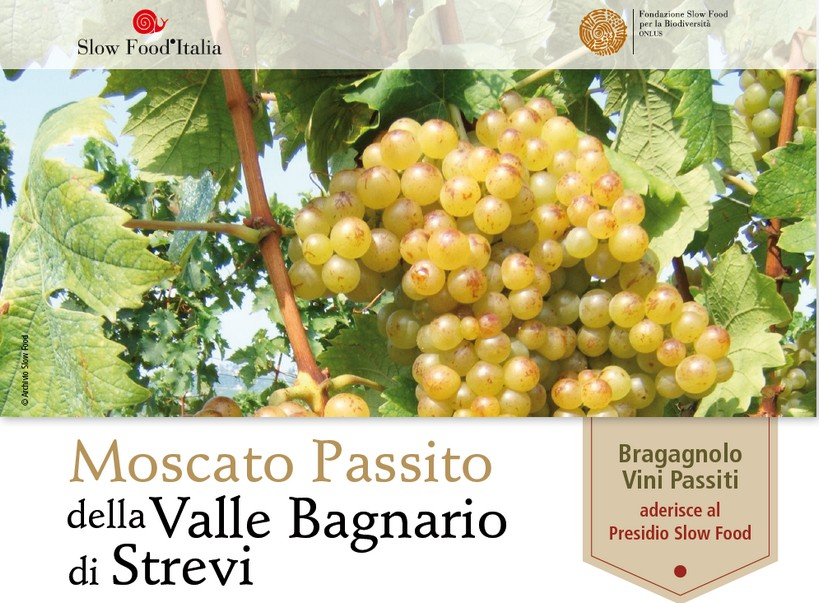 presidio Slow Food Moscato Passito della Valle Bagnario